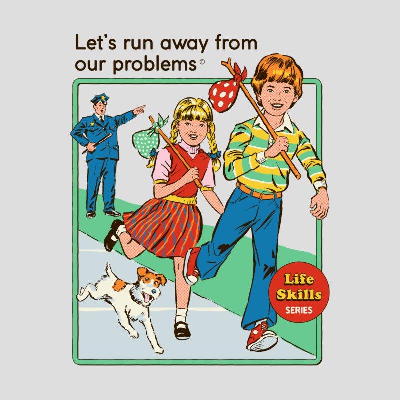 Let's Run Away Women's Longsleeve T-Shirt by Threadless Artist Shop
