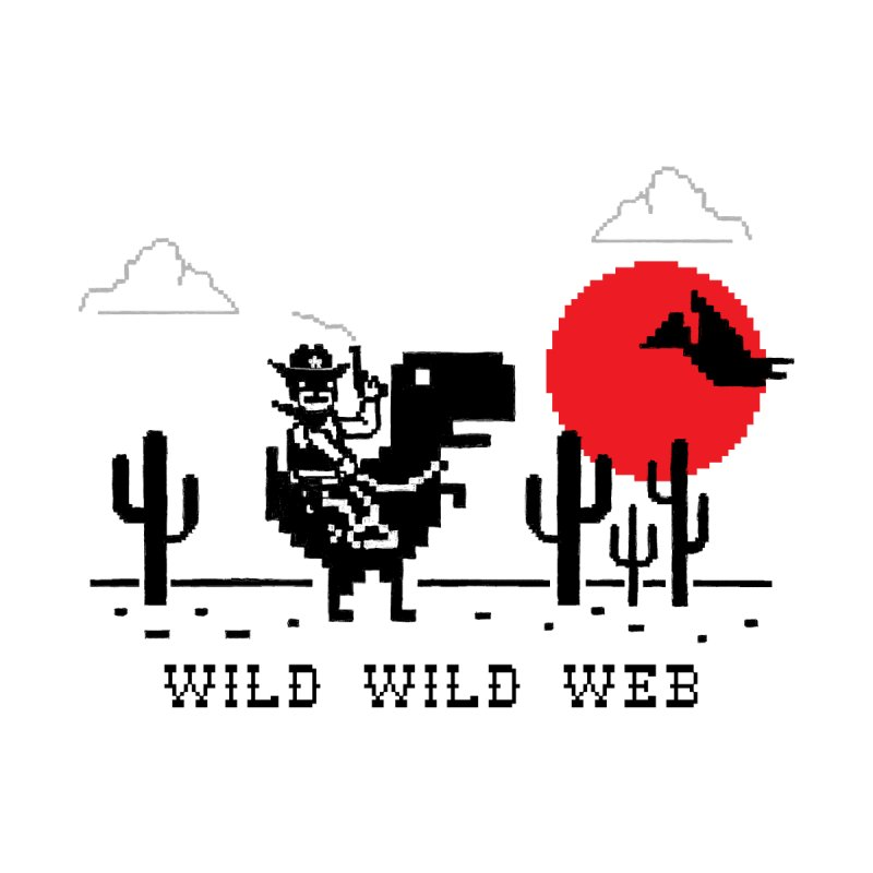 Wild Wild Web Men's Pullover Hoody by Threadless Artist Shop