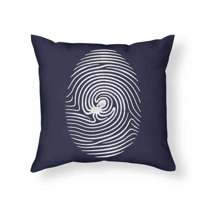 Octo-print Home Throw Pillow by Threadless Artist Shop