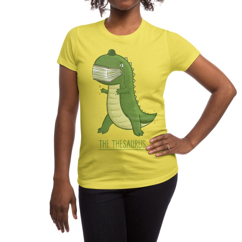 The Thesaurus Women's T-Shirt by Threadless Artist Shop