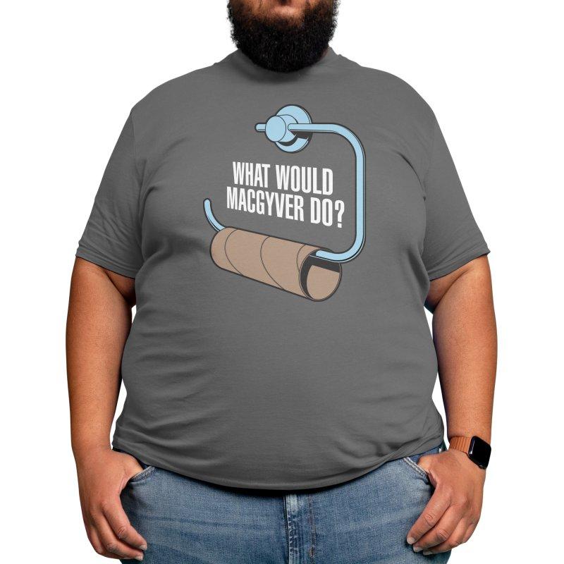 What Would Macgyver Do? Men's T-Shirt by Threadless Artist Shop