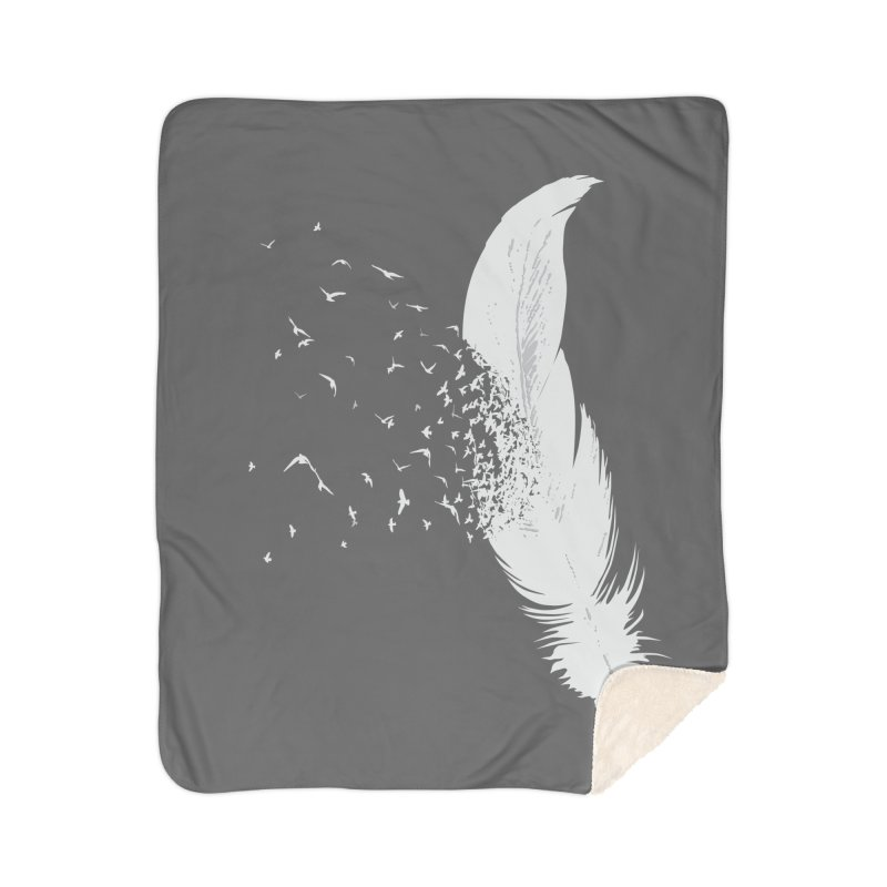 Birds Of A Feather Home Blanket by Threadless Artist Shop