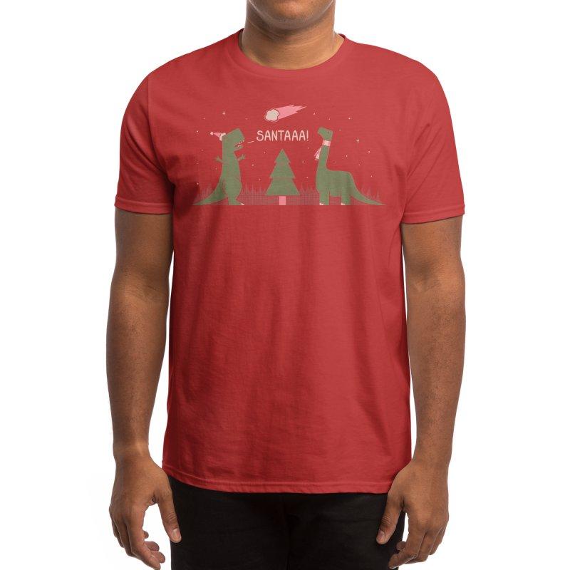 Merry Extinction Men's T-Shirt by Threadless Artist Shop