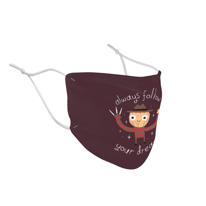 Always Follow Your Dreams Accessories Face Mask by Threadless Artist Shop