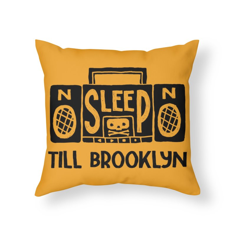 Retro Radio Home Throw Pillow by Threadless Artist Shop