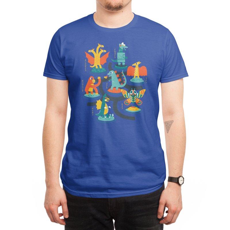 Tokyo Zoo Men's T-Shirt by Threadless Artist Shop