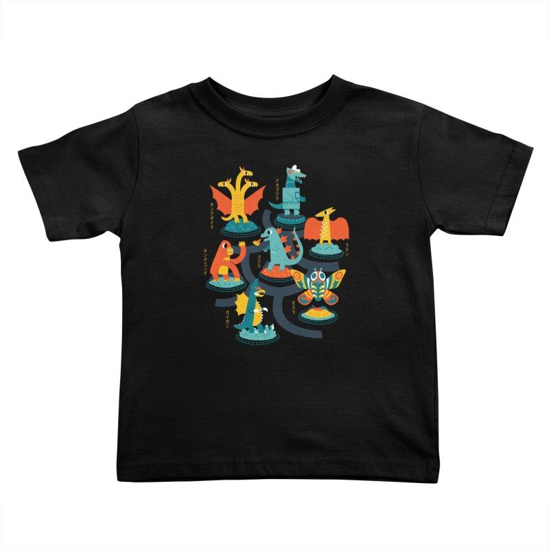 Tokyo Zoo Kids Toddler T-Shirt by Threadless Artist Shop