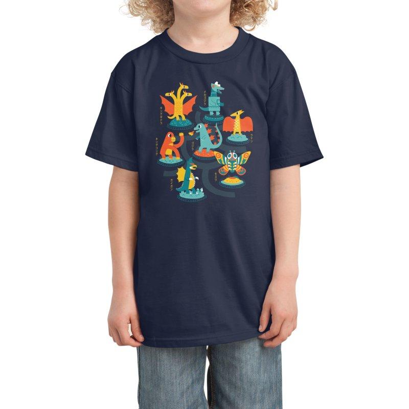 Tokyo Zoo Kids T-Shirt by Threadless Artist Shop