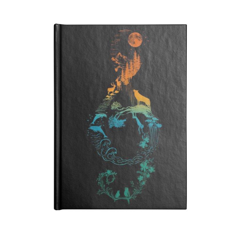 SOUND OF NATURE Accessories Notebook by Threadless Artist Shop