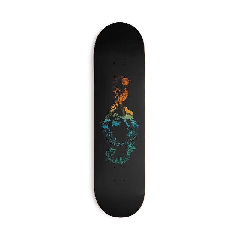 SOUND OF NATURE Accessories Skateboard by Threadless Artist Shop