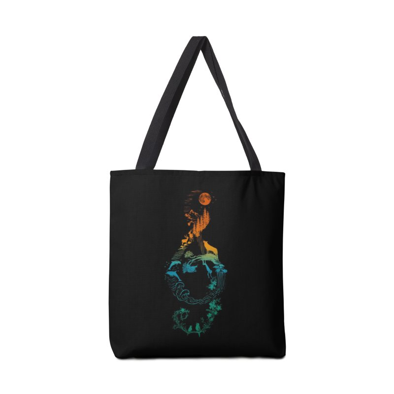 SOUND OF NATURE Accessories Bag by Threadless Artist Shop
