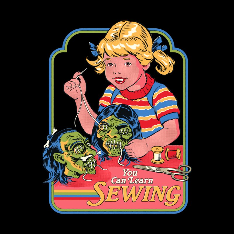 You Can Learn Sewing Men's T-Shirt by Threadless Artist Shop