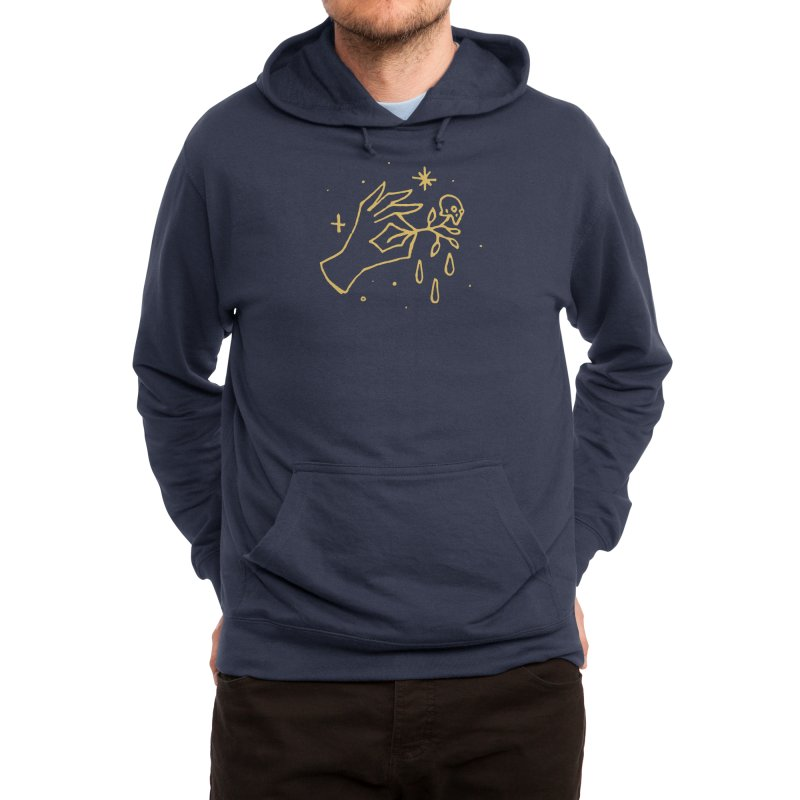 The Black Flower Men's Pullover Hoody by Threadless Artist Shop