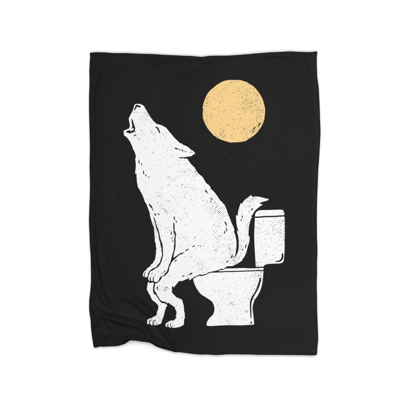 Howling At Night Home Blanket by Threadless Artist Shop