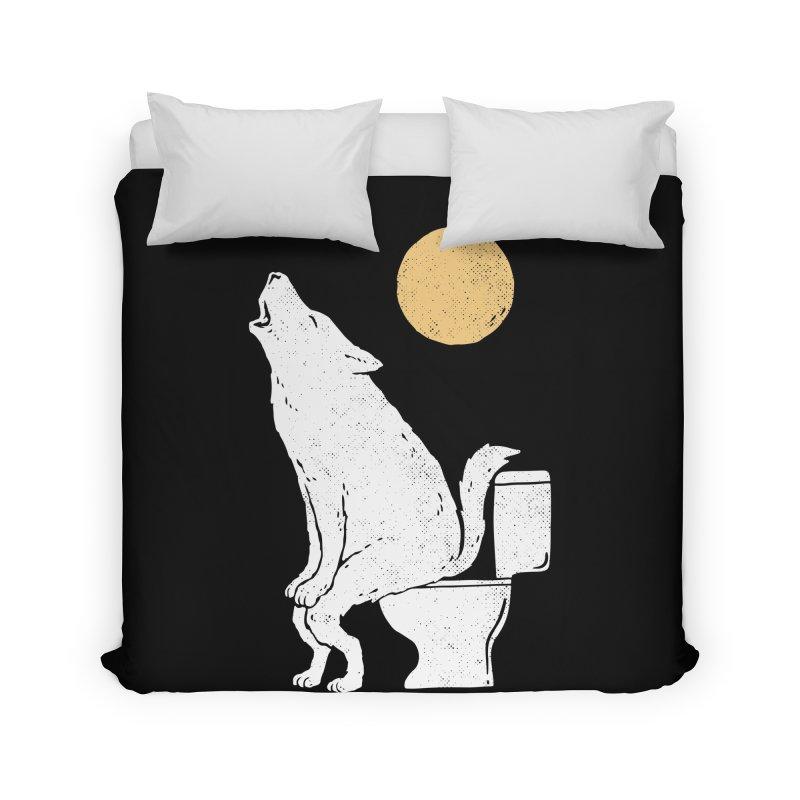 Howling At Night Home Duvet by Threadless Artist Shop