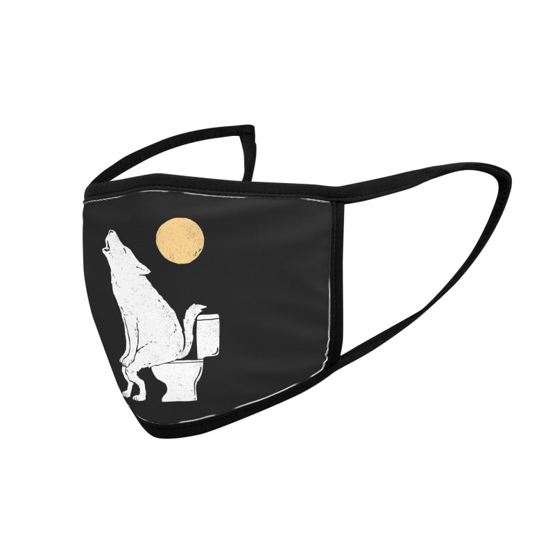 Howling At Night Accessories Face Mask by Threadless Artist Shop