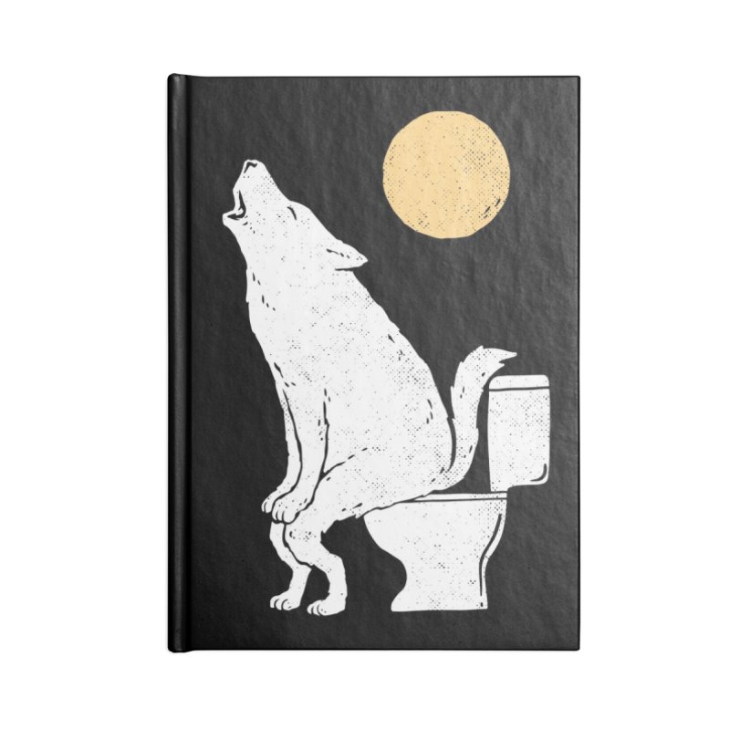 Howling At Night Accessories Notebook by Threadless Artist Shop