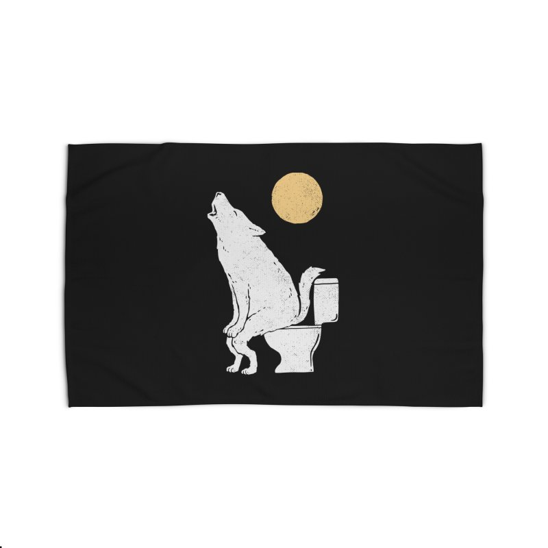 Howling At Night Home Rug by Threadless Artist Shop