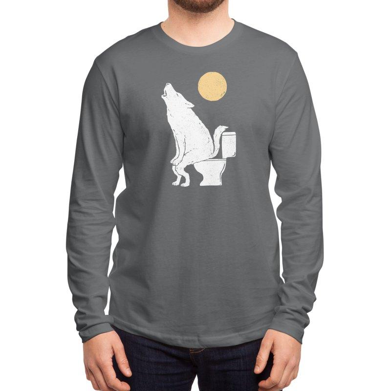 Howling At Night Men's Longsleeve T-Shirt by Threadless Artist Shop