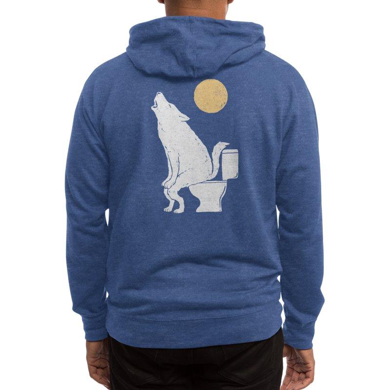 Howling At Night Men's Zip-Up Hoody by Threadless Artist Shop