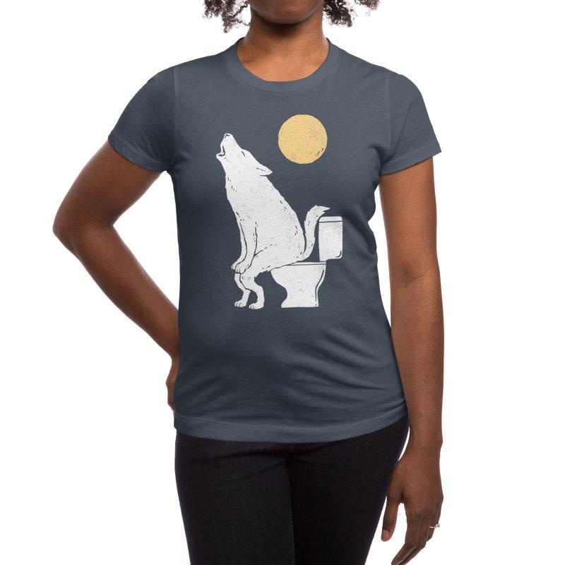 Howling At Night Women's T-Shirt by Threadless Artist Shop