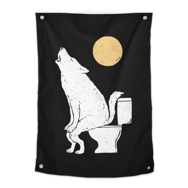 Howling At Night Home Tapestry by Threadless Artist Shop