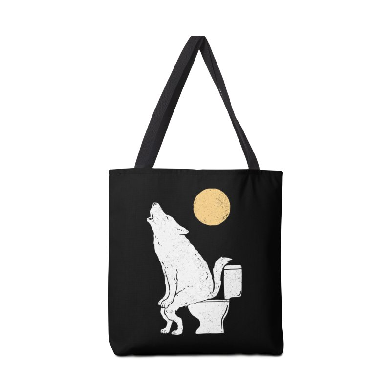 Howling At Night Accessories Bag by Threadless Artist Shop