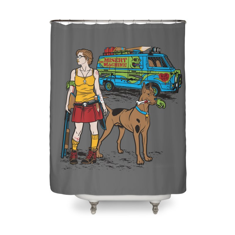 We've Got Some Work To Do Now Home Shower Curtain by Threadless Artist Shop