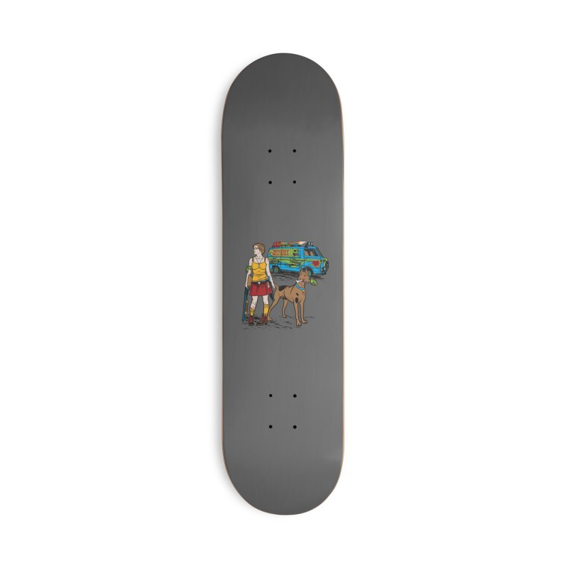 We've Got Some Work To Do Now Accessories Skateboard by Threadless Artist Shop