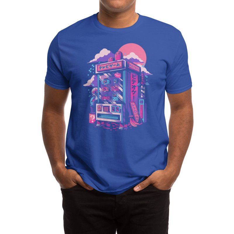 Retro gaming machine Men's T-Shirt by Threadless Artist Shop
