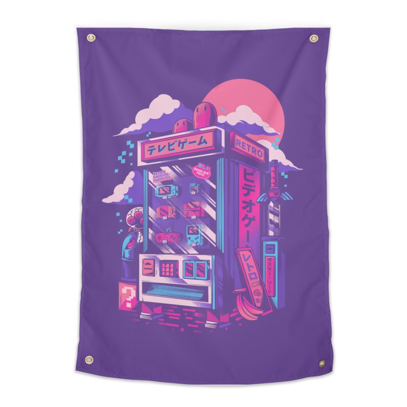Retro gaming machine Home Tapestry by Threadless Artist Shop