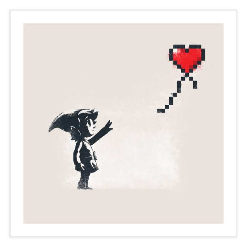 Linksy Home Fine Art Print by Threadless Artist Shop