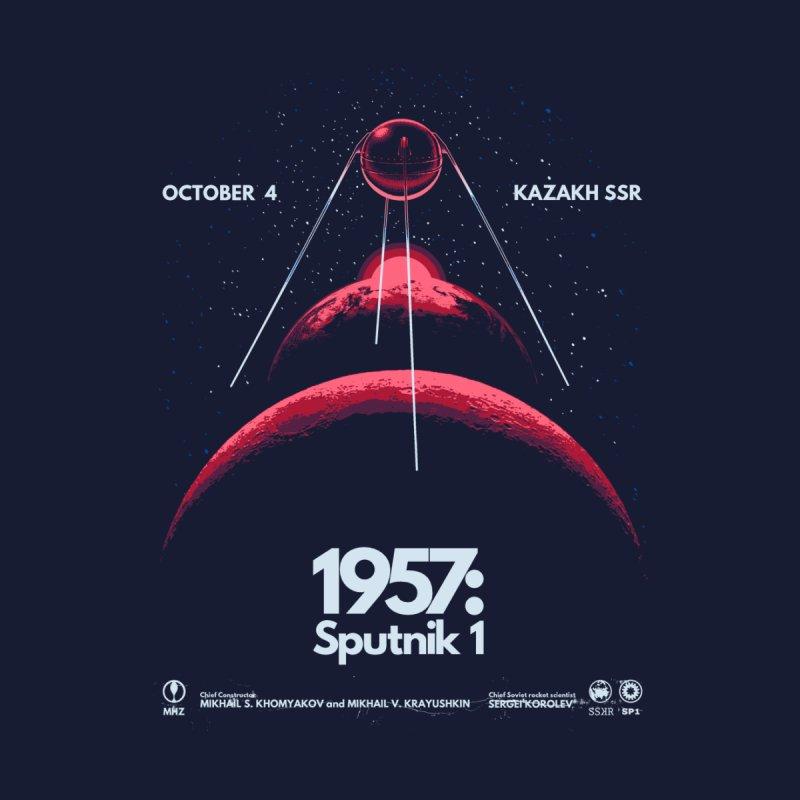 1957: Sputnik 1 Home Throw Pillow by Threadless Artist Shop