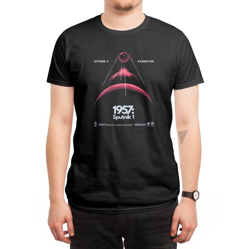 1957: Sputnik 1 Men's T-Shirt by Threadless Artist Shop