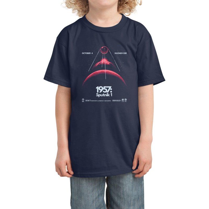 1957: Sputnik 1 Kids T-Shirt by Threadless Artist Shop