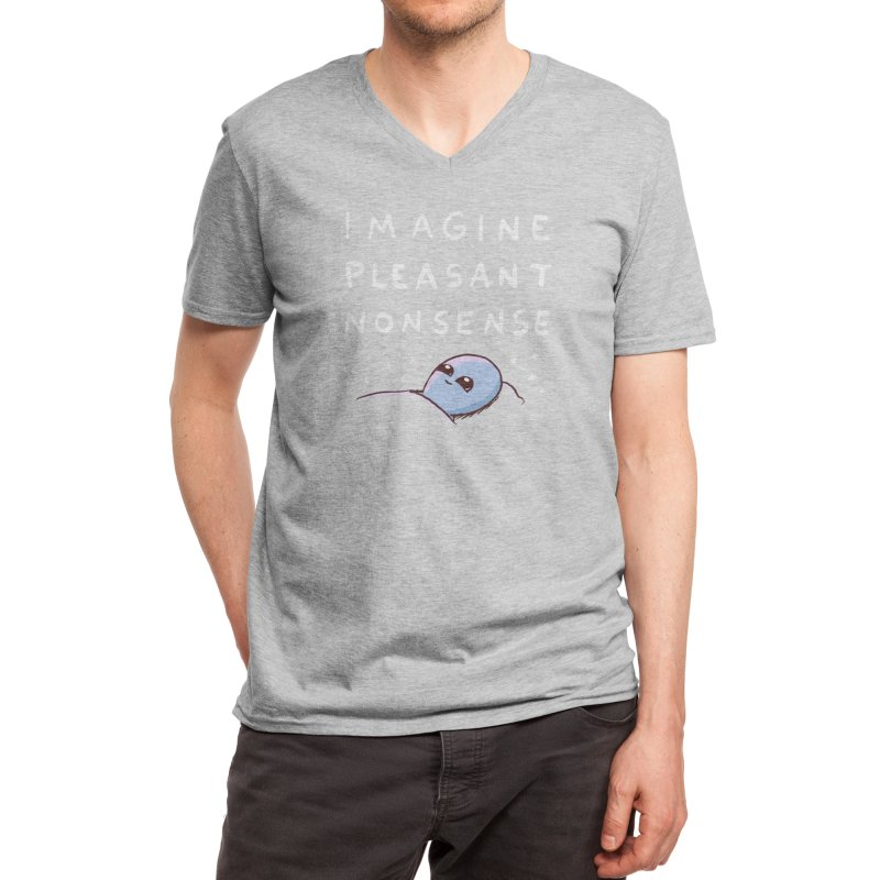 Strange Planet: Imagine Pleasant Nonsense Men's V-Neck by Threadless Artist Shop