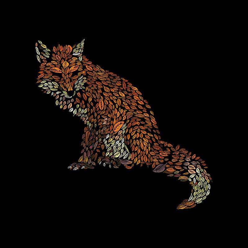 The Fox Leaves at Midnight Men's T-Shirt by Threadless Artist Shop