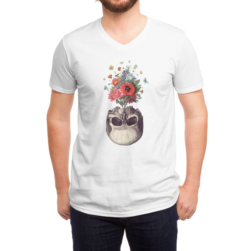 Memento Men's V-Neck by Threadless Artist Shop