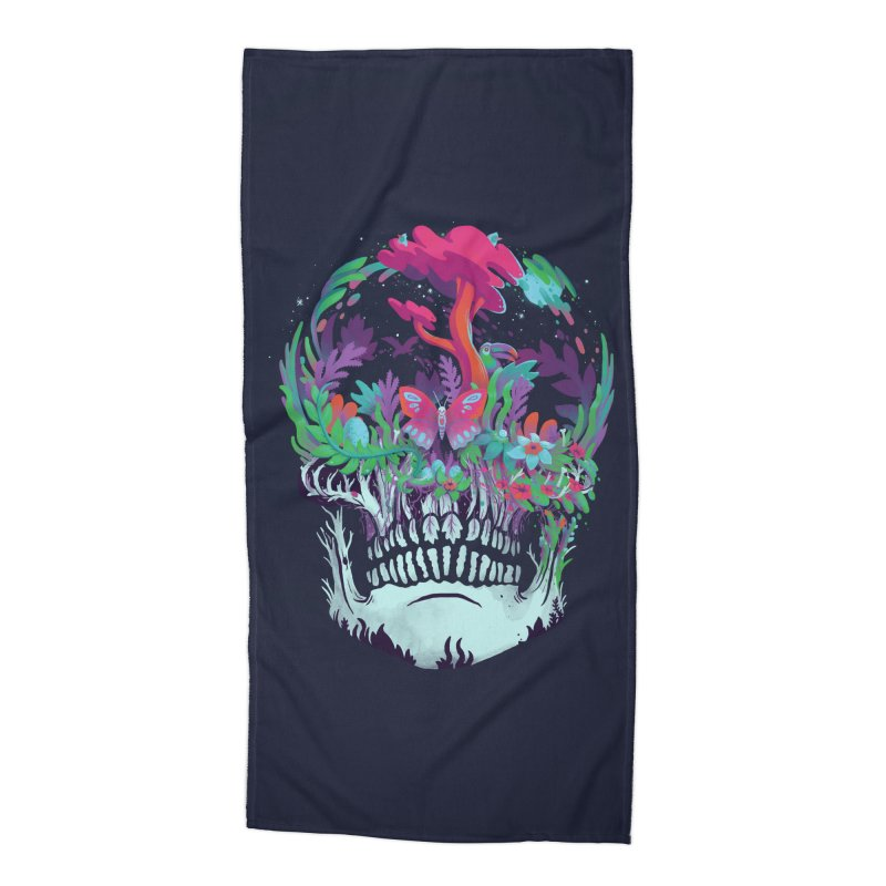 Beyond Death Accessories Beach Towel by Threadless Artist Shop