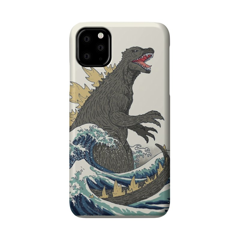 The Great Monster Off Kanagawa Accessories Phone Case by Threadless Artist Shop