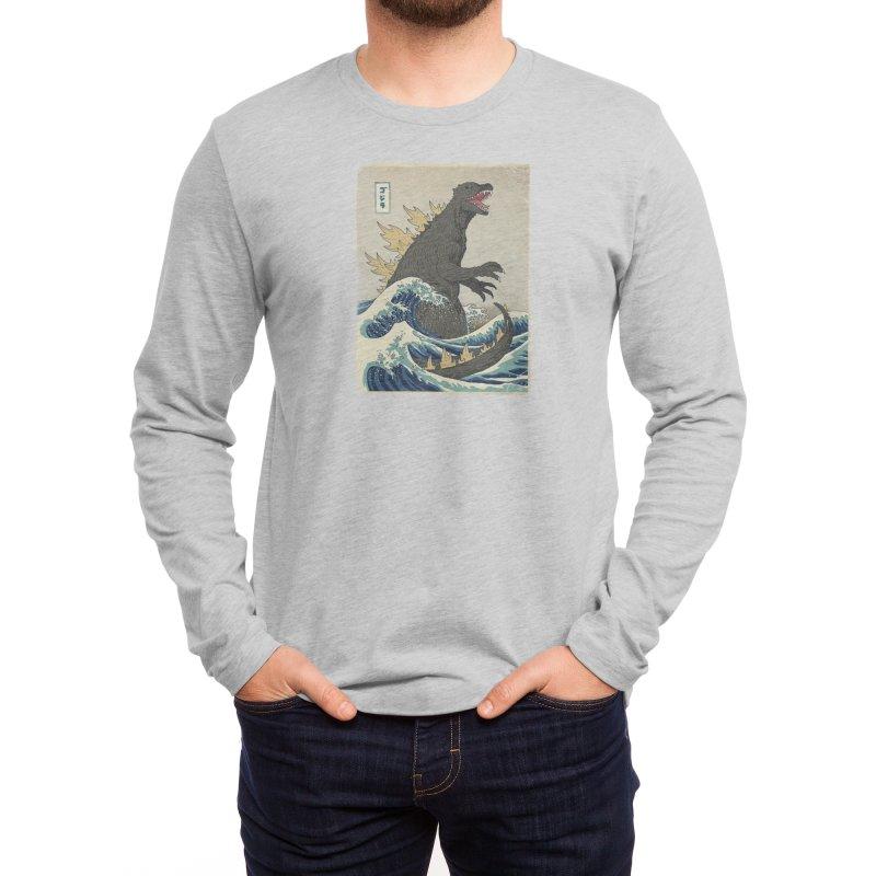 The Great Monster Off Kanagawa Men's Longsleeve T-Shirt by Threadless Artist Shop