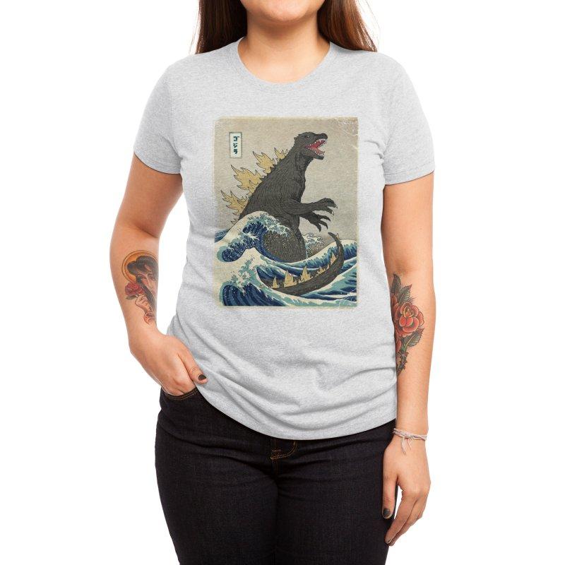 The Great Monster Off Kanagawa Women's T-Shirt by Threadless Artist Shop