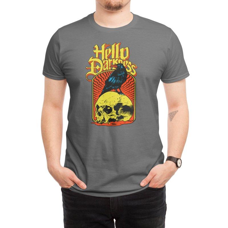 Hello Darkness Men's T-Shirt by Threadless Artist Shop