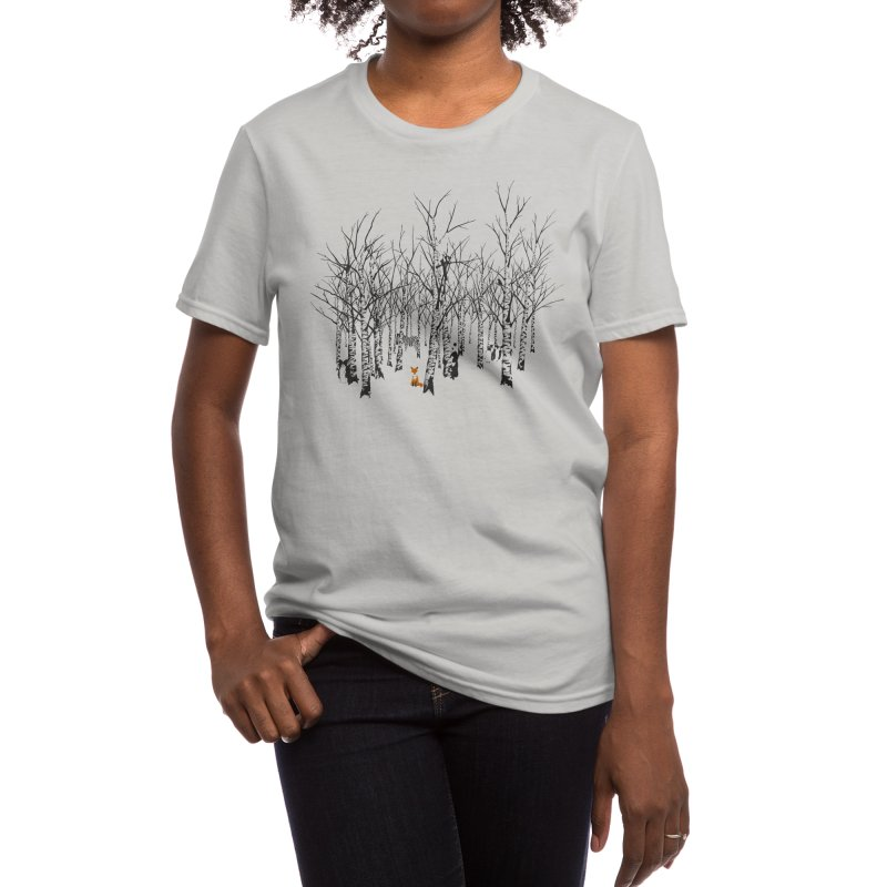 Larry the Fox Doesn't Feel So Clever Anymore. Women's T-Shirt by Threadless Artist Shop