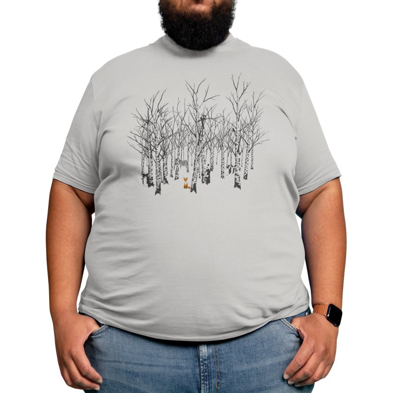 Larry the Fox Doesn't Feel So Clever Anymore. Men's T-Shirt by Threadless Artist Shop