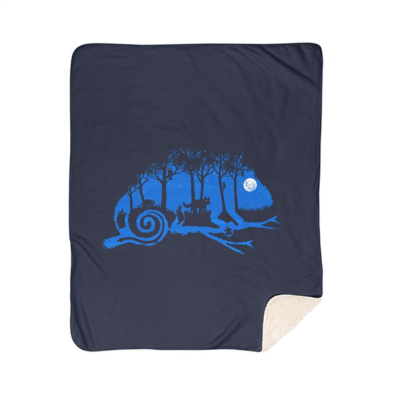 The Midnight Forest Home Blanket by Threadless Artist Shop