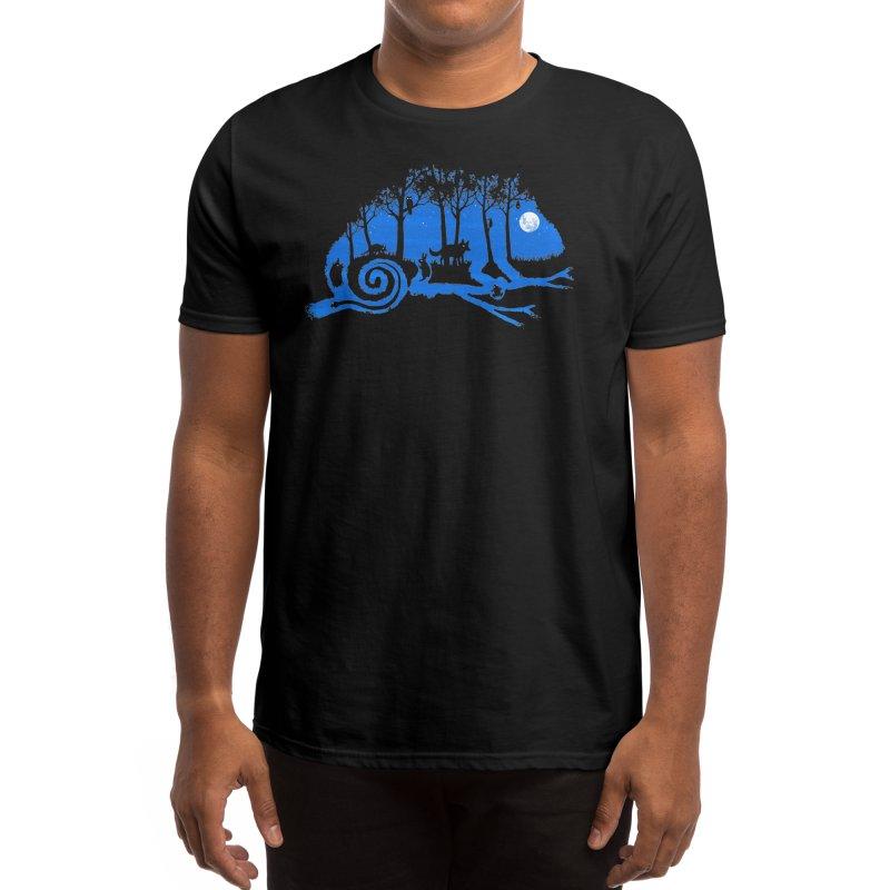 The Midnight Forest Men's T-Shirt by Threadless Artist Shop