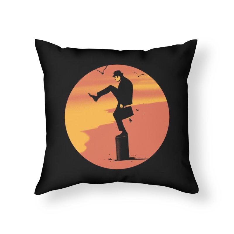 Silly Karate Home Throw Pillow by Threadless Artist Shop