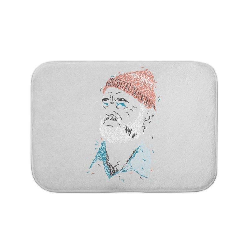 Zissou of Fish Home Bath Mat by Threadless Artist Shop
