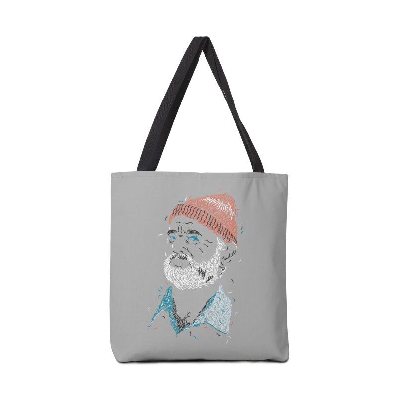 Zissou of Fish Accessories Bag by Threadless Artist Shop